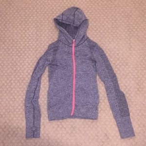 Forever21 workout zip up with hood